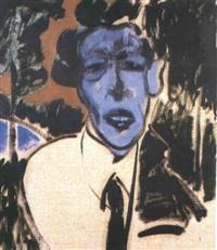 portrait de serge lifar by marcus reichert