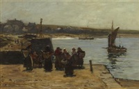 waiting for the boats by robert weir allan