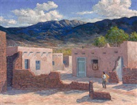 indian pueblo by carl von hassler