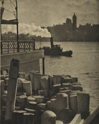 the city across the river by alfred stieglitz
