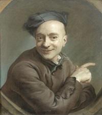 autoportrait by maurice quentin de la tour