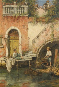 venetian fisher boys by burr h. nicholls