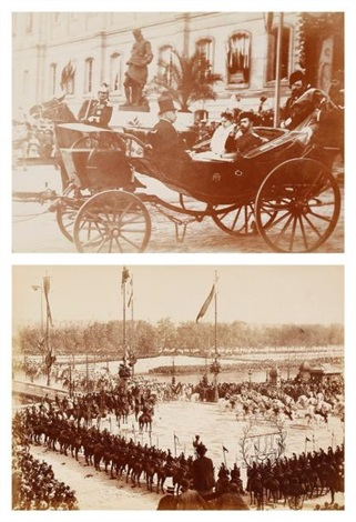 voyage du tsar nicolas ii de russie en france (album w/34 works) by paul le boyer