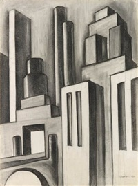 the river rouge plant by charles sheeler