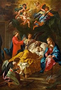 der tod des heiligen joseph by martino altomonte