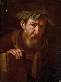 bildnis eines dichters(?) by pietro paolini