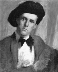 self portrait by thomas gilbert white