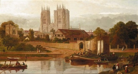 view of york by w richards