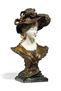bust of a lady by xavier raphanel