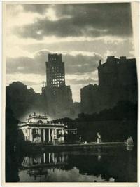 pałac na wodzie (fotomontaż) by stefan rassalski