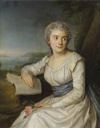 portrait de madame la comtesse de lameth by adélaïde labille-guiard