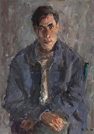 老聂 (portrait) by sun xun