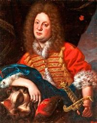 arisztokrata portréja dávidként, góliát fejével by anonymous-central european (18)