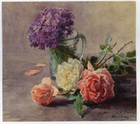 jeté de roses by henri biva