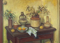 still life with objects by margaret hannah olley