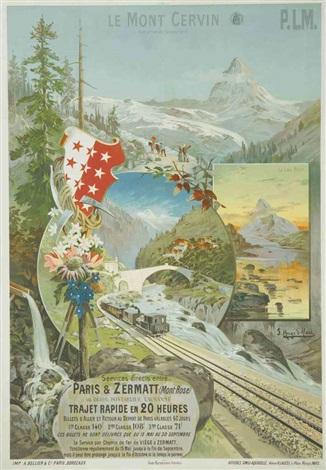 le mont cervin paris zermatt by frederic hugo d alesi