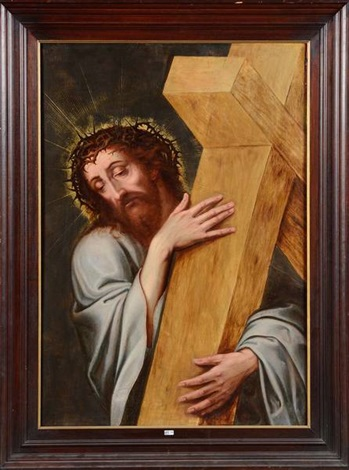 le christ portant la croix by michiel coxie the elder