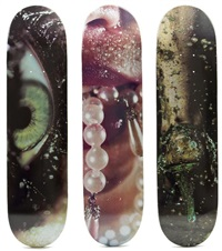 skatedecks (set of 3) by marilyn minter