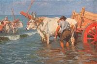 bañando los bueyes by augusto bastianini
