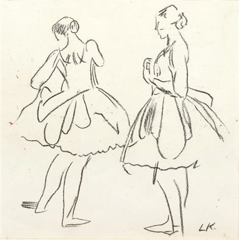ballet dancers by dame laura knight