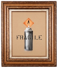 fragile by banksy