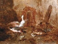 la basse-cour by leon-antoine-lucien couturier