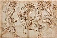 quatre figures d'hommes by baccio bandinelli
