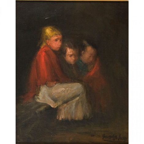 children of the street by george benjamin luks