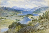 queen's view, loch tummel by william simpson