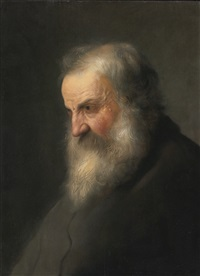 head of an old man by jan lievens