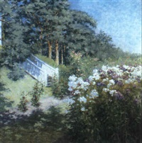 a summer garden by a. gronvold