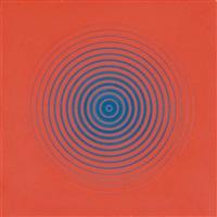 dinamica circolare 6a, blu e rosso by marina apollonio