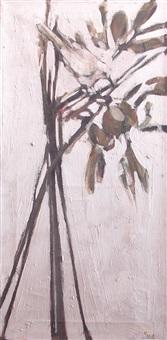 bird on a branch by viola frey