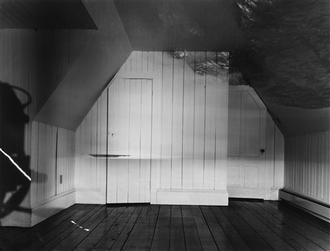 camera obscura image of the sea in attic by abelardo morell