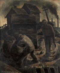coal breakers by hughie lee-smith