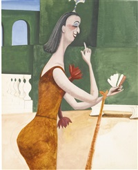 nellie wallace by edward burra