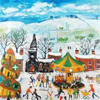 winter fair, cornwall by simeon stafford