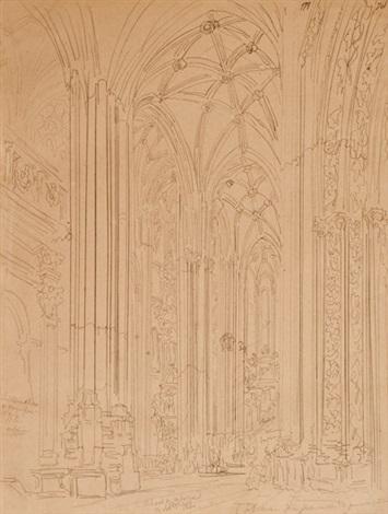 catedral de astorga by genaro perez villaamil