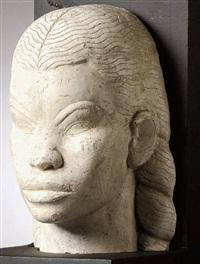 sumerian face by khaled al-rahhal