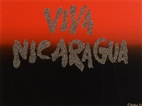 viva nicaragua by robert ballagh