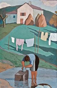 la lavandière by ramiro arrue
