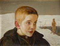 portret chłopca by vlastimil hofmann