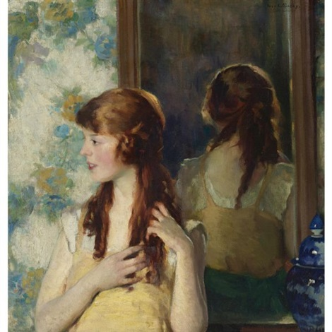 girl in the mirror by ivan g olinsky