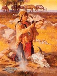 buffalo offering by roy andersen