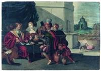 la parabole de lazare et du mauvais riche by ambrosius francken the elder