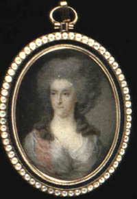 fredrica sophia wilhelmina, princess of orange nassau, nee princess of prussia (1751-1820)... by pierre le sage