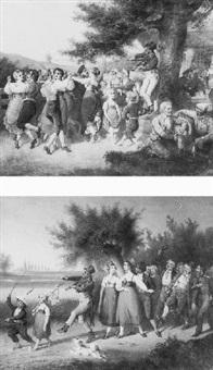 bal campagnard by hermann loeschin