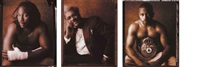 selected portraits, boxers in boxers, may (5 works) by william coupon
