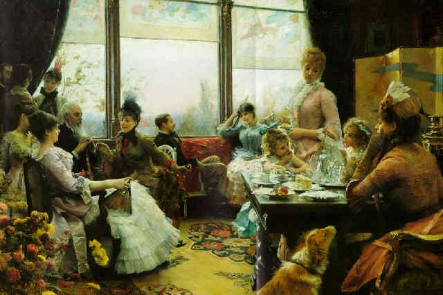 five oclock tea by julius leblanc stewart