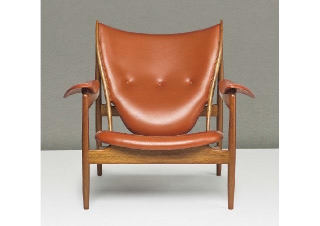 Niels Roth Andersen/chieftain Chair By Finn Juhl